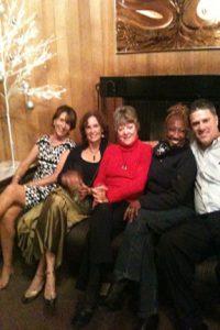 Members at holiday party.
