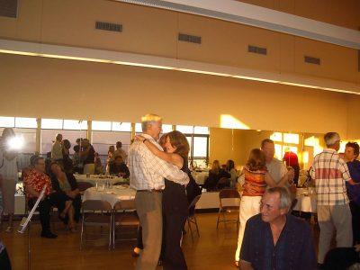 Members dancing.