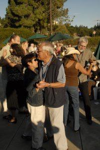 Members dancing to Miko Marks
